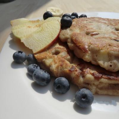 Buchweizen Pfannkuchen herzhaft und süß